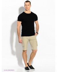 Мужские бежевые шорты от F5