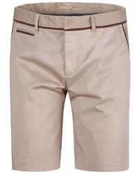 Мужские бежевые шорты от Oodji