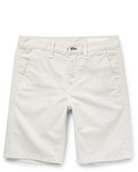 Мужские бежевые шорты от rag & bone
