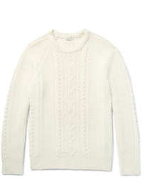 Мужской бежевый вязаный свитер от Club Monaco