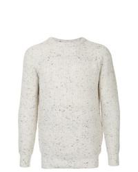 Мужской бежевый вязаный свитер от GUILD PRIME
