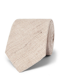 Мужской бежевый галстук от Kingsman