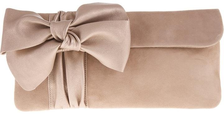 f7bbcd940f0f Бежевый замшевый клатч от Pretty Ballerinas, 18 067 руб. | farfetch ...