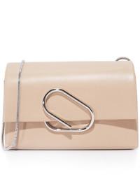 Женский бежевый кожаный клатч от 3.1 Phillip Lim