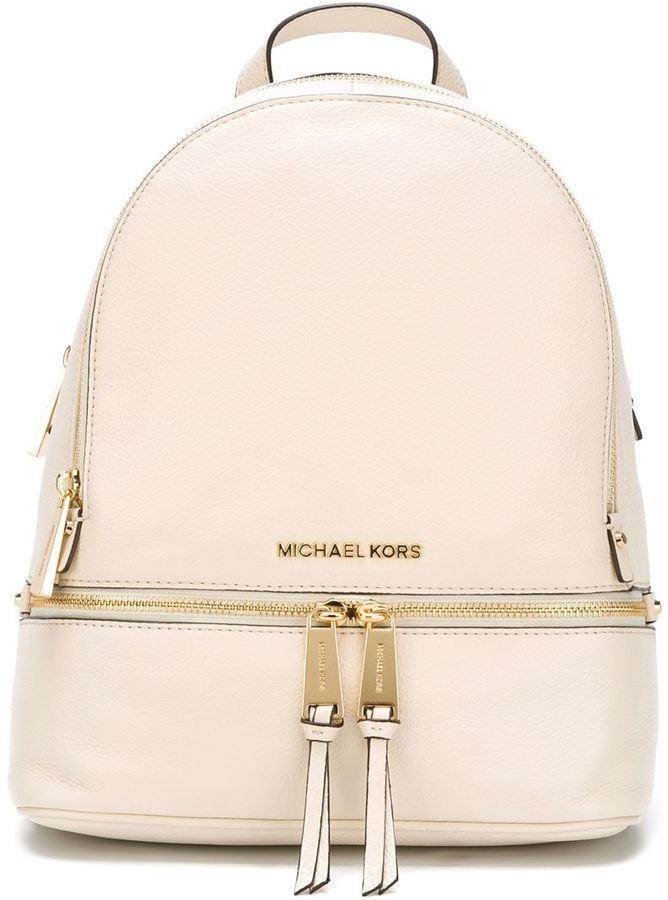 Рюкзаки кожаные женские michael kors рюкзак гулливер черепашки ниндзя майки
