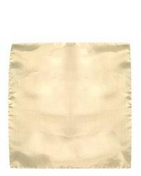 Бежевый нагрудный платок