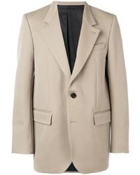 Мужской бежевый пиджак от Ami
