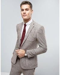 Мужской бежевый пиджак от Asos