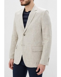 Мужской бежевый пиджак от Berkytt