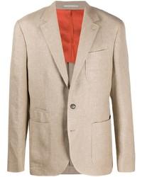 Мужской бежевый пиджак от Brunello Cucinelli