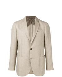 Мужской бежевый пиджак от Etro