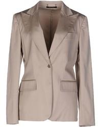 Женский бежевый пиджак от Gucci