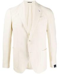 Мужской бежевый пиджак от Lardini