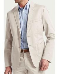 Мужской бежевый пиджак от W.Wegener