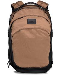 Бежевый рюкзак из плотной ткани