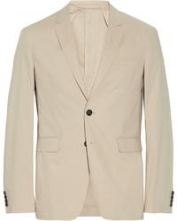 Мужской бежевый хлопковый пиджак от Burberry