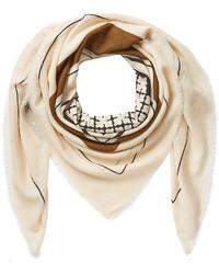 Женский бежевый шарф от By Malene Birger