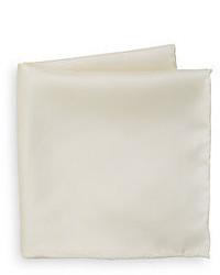 Мужской бежевый шелковый нагрудный платок от Saks Fifth Avenue BLACK