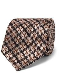Мужской бежевый шерстяной галстук от Rubinacci