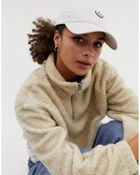 Женская белая бейсболка от adidas Originals