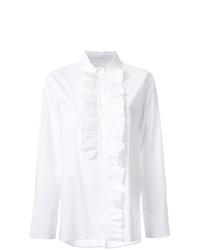 Белая блуза на пуговицах от Marni
