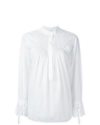 Белая блузка с длинным рукавом от Chloé