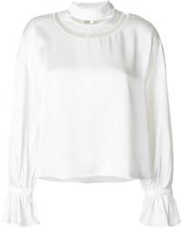 Белая блузка от Fendi