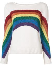 Белая вязаная блузка от Marc Jacobs