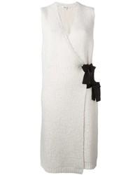 Женская белая вязаная туника от Elizabeth and James