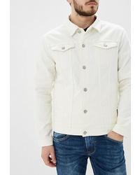 Мужская белая джинсовая куртка от SPRINGFIELD