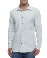 белая джинсовая рубашка original 2768325