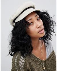 Женская белая кепка от Brixton