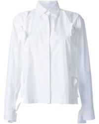 Женская белая классическая рубашка