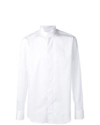 Мужская белая классическая рубашка от Alessandro Gherardi