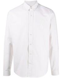 Мужская белая классическая рубашка от Ami Paris