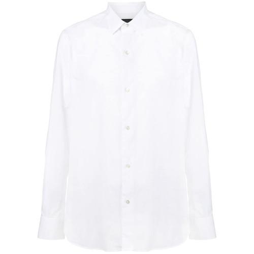 Мужская белая классическая рубашка от Ann Demeulemeester