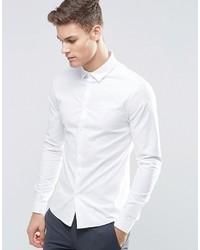 Мужская белая классическая рубашка от Asos