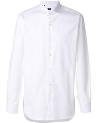 Мужская белая классическая рубашка от Barba
