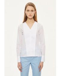 Женская белая классическая рубашка от Base Forms