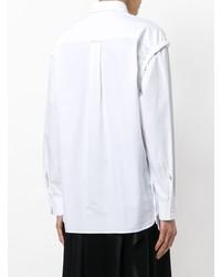 Женская белая классическая рубашка от Cédric Charlier