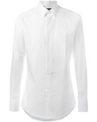 Мужская белая классическая рубашка от Dolce & Gabbana