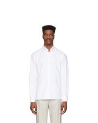 Мужская белая классическая рубашка от Eidos