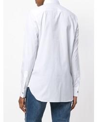 Женская белая классическая рубашка от Ermanno Scervino