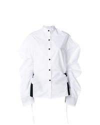 Женская белая классическая рубашка от Eudon Choi