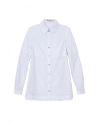 Женская белая классическая рубашка от JN