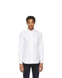 Мужская белая классическая рубашка от Officine Generale
