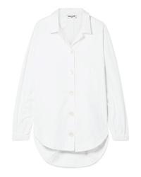 Женская белая классическая рубашка от Opening Ceremony