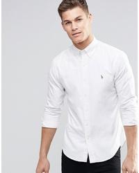 Мужская белая классическая рубашка от Polo Ralph Lauren