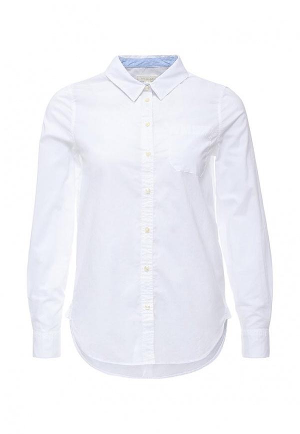 fec1773b366 ... Женская белая классическая рубашка от SPRINGFIELD ...