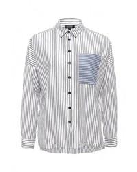 Женская белая классическая рубашка от Topshop